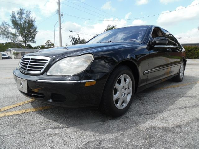 2002 Used Mercedes-Benz S-Class S500 at L G E  Auto Sales Serving Wilton  Manors, FL, IID 18749553