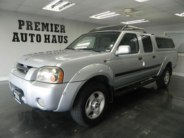 2002 Nissan Frontier 4WD 2002 NISSAN FRONTIER 4WD 4 DOOR TRUCK CREW CAB