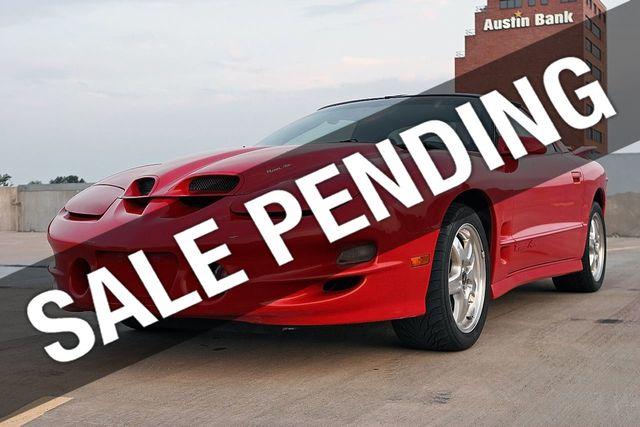 2002 Pontiac Firebird 2002 Pontiac Trans Am WS6 T-Top Coupe