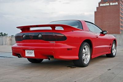 2002 Pontiac Firebird 2002 Pontiac Trans Am WS6 T-Top Coupe - Click to see full-size photo viewer