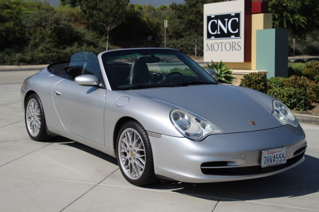 2002 Used Porsche 911 Carrera 2dr Carrera 4 Cabriolet 6 Speed Manual At Cnc Motors Inc Serving Upland Ca Iid 20082151