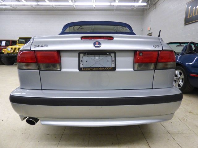 2002 Saab 9-3 2dr Convertible SE - Click to see full-size photo viewer