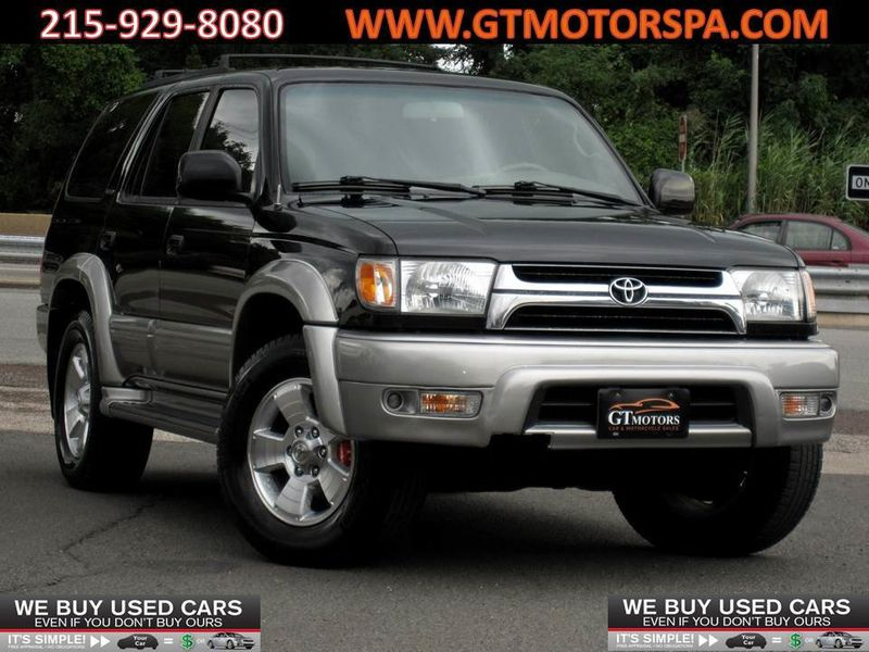 2002 Toyota 4Runner 4dr Limited 3.4L Automatic 4WD - 19177977 - 0