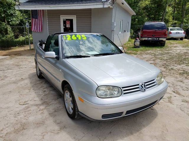 2002 volkswagen cabrio 2dr convertible gls automatic for sale