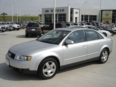 Audi A T Quattro Sedan For Sale Cedar Falls IA - 2003 audi a4