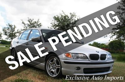 2003 BMW 3 Series 2003 BMW 330i PREMIUM SPORT LEATHER E46 SEDAN MANUAL 3-SERIES!!!
