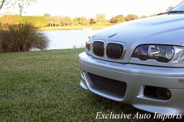 2003 BMW 3 Series 2003 BMW M3 Coupe Titanium Silver on Cinnamon Navigation 6-Speed - Click to see full-size photo viewer