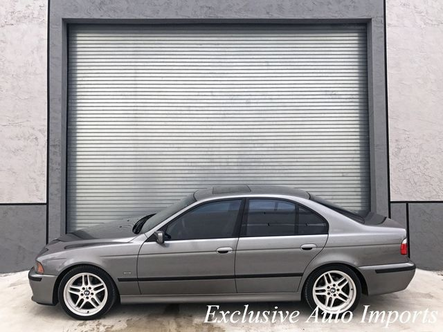 2003 BMW 5 Series 540iA M-TECHNIC M-SPORT E39 M62 4.4L V8 RARE - Click to see full-size photo viewer