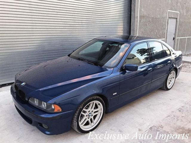 2003 BMW 5 Series 540iA M-TECHNIC M-SPORT E39 M62 4.4L V8 RARE LOADED - Click to see full-size photo viewer