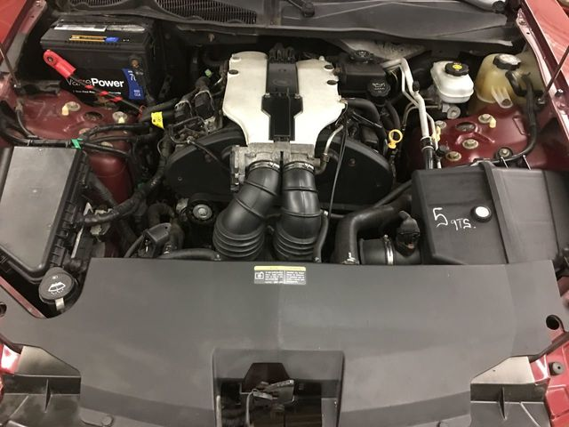 2003 Cadillac CTS CUSTOM EXHAUST COIL OVER SUSPENSION - Click to see full-size photo viewer