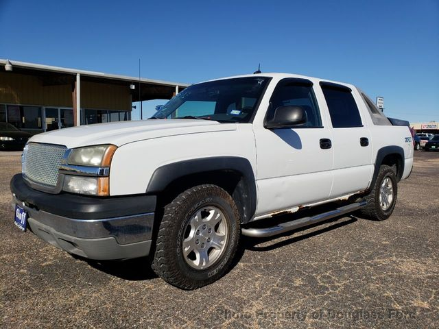 """2003 Chevrolet Avalanche 1500 5dr Crew Cab 130"""" WB 4WD"""