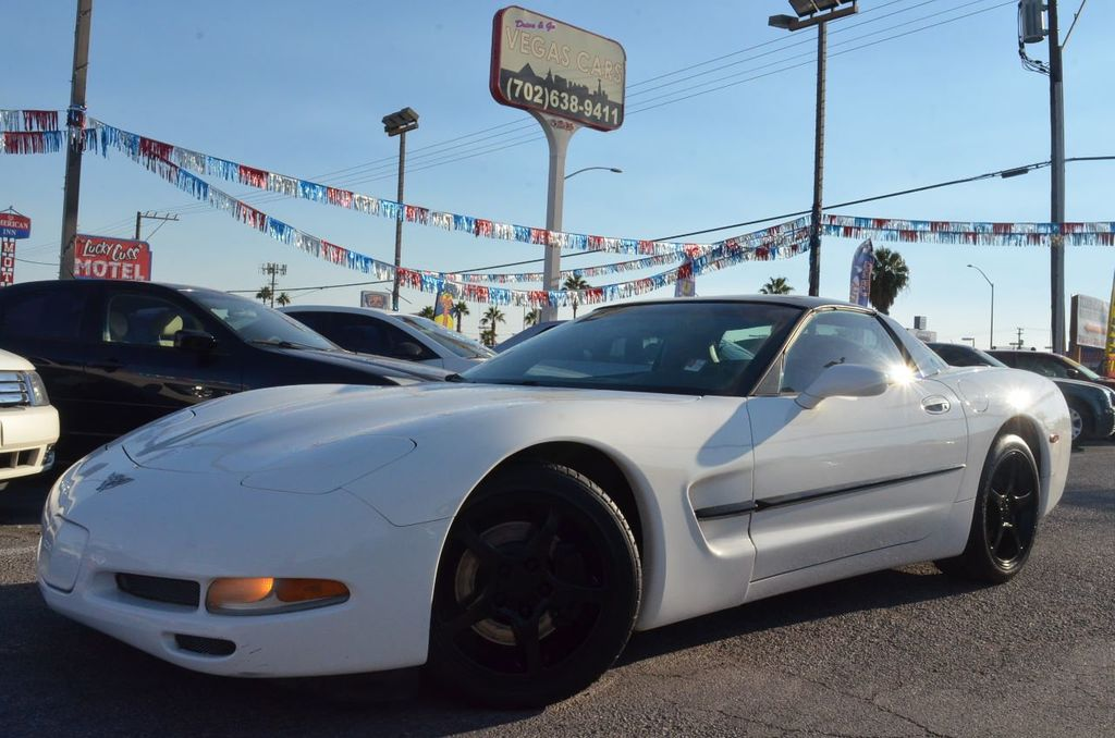 2003 Used Chevrolet Corvette 2dr Coupe at Drive & Go Vegas Cars ...