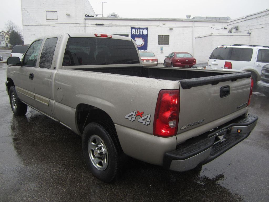 2003 used chevrolet silverado 1500 ls 4x4 ext cab 4dr at contact us serving cherry hill. Black Bedroom Furniture Sets. Home Design Ideas