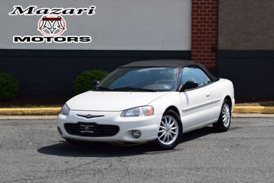 2003 Chrysler Sebring 2dr Convertible LXi