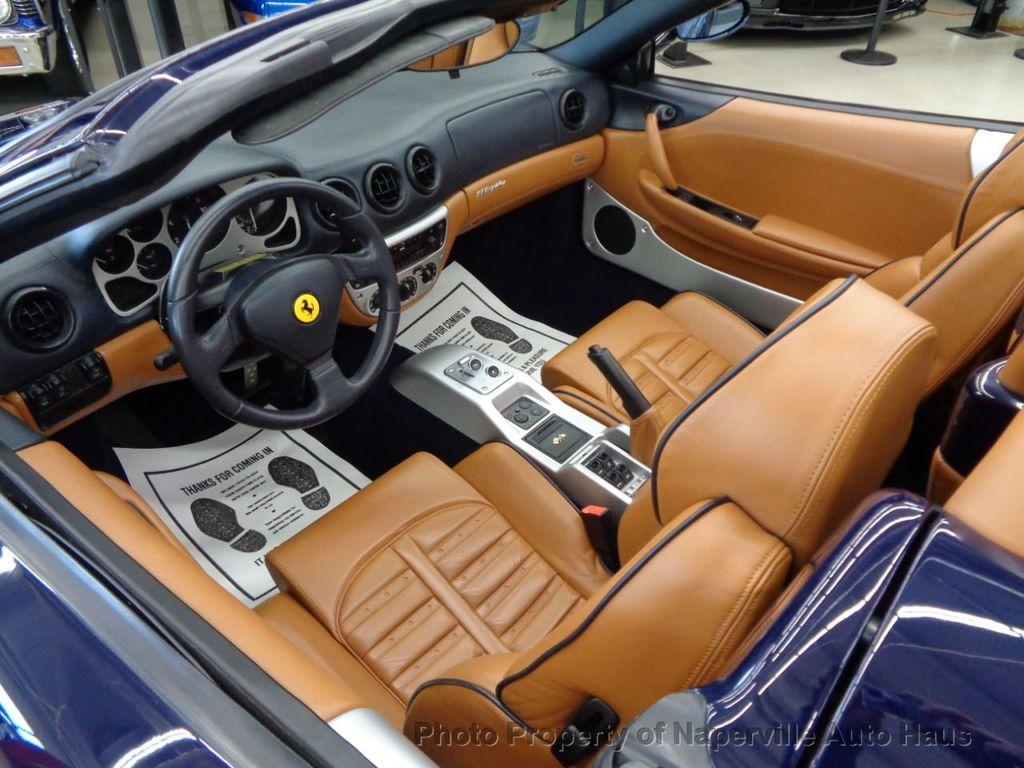 2003 Ferrari 360 2dr Convertible Spider - 18300957 - 15