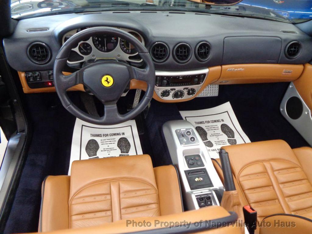 2003 Ferrari 360 2dr Convertible Spider - 18300957 - 21
