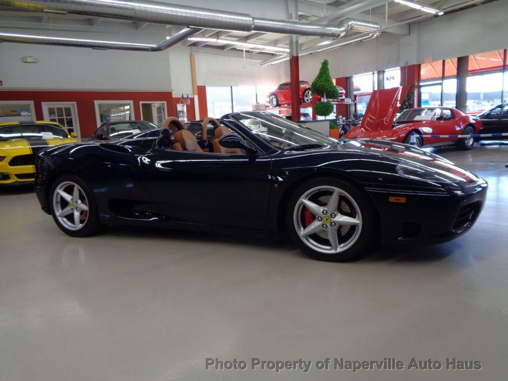 2003 Ferrari 360 2dr Convertible Spider - 18300957 - 2