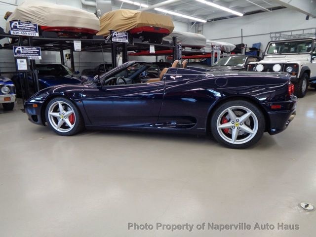 2003 Ferrari 360 2dr Convertible Spider - Click to see full-size photo viewer