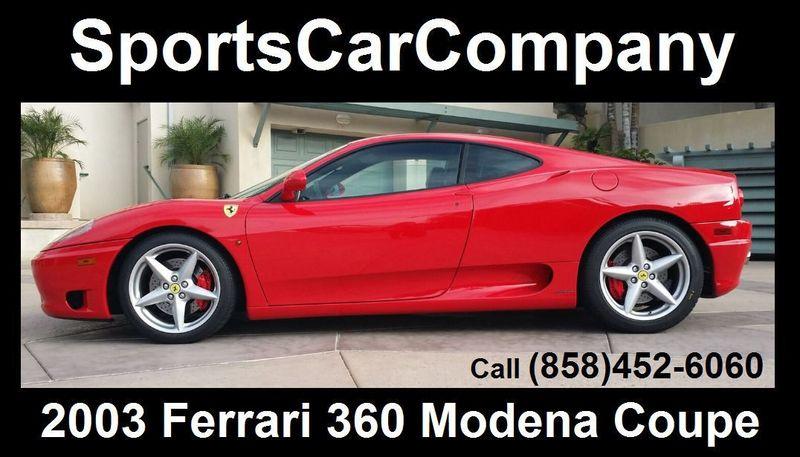 2003 Ferrari 360 360 MODENA COUPE - 17148573 - 1