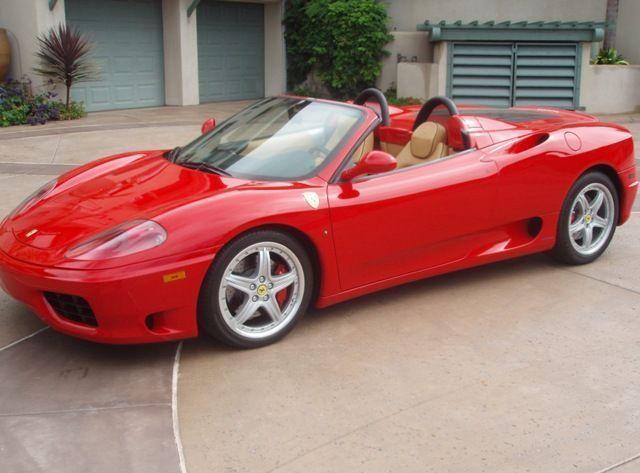 2003 Used Ferrari 360 Spider Spider F1 At Sports Car Company Inc Serving La Jolla Ca Iid 2218092