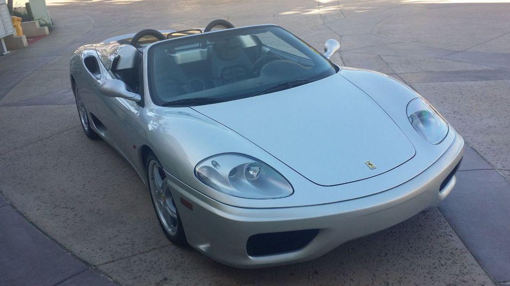 2003 Ferrari 360 SPIDER 6 SPEED 360 Spider 6 Speed Manual Transmission - 16885367 - 32