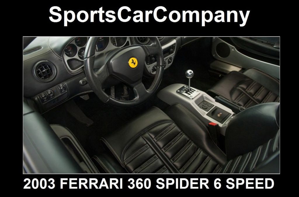 2003 Ferrari 360 SPIDER 6 SPEED 360 Spider 6 Speed Manual Transmission - 16885367 - 35