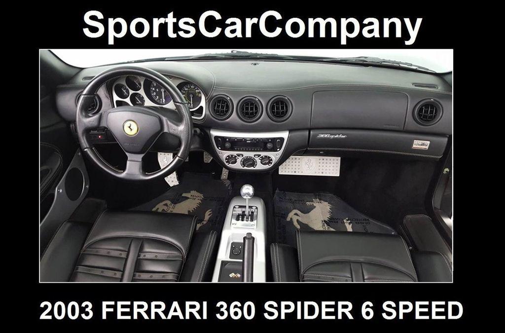 2003 Ferrari 360 SPIDER 6 SPEED 360 Spider 6 Speed Manual Transmission - 16885367 - 36