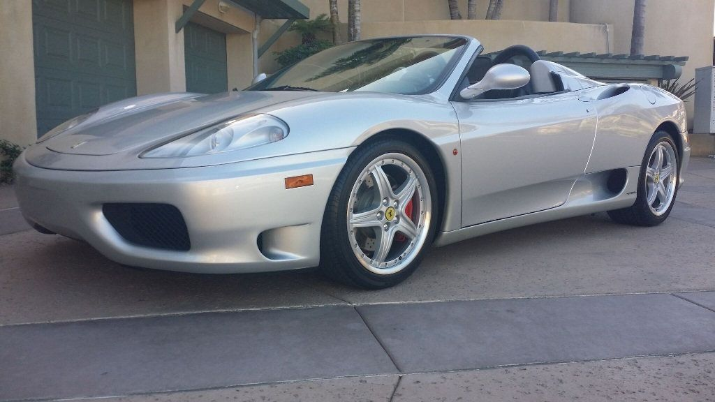 2003 Ferrari 360 SPIDER 6 SPEED 360 Spider 6 Speed Manual Transmission - 16885367 - 3