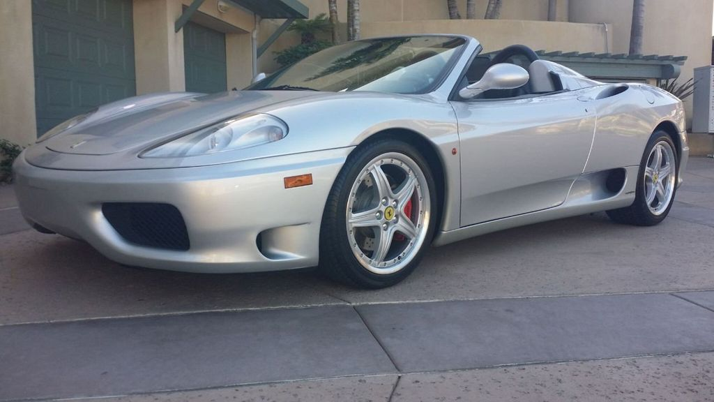 2003 Ferrari 360 SPIDER 6 SPEED 360 Spider 6 Speed Manual Transmission - 16885367 - 44