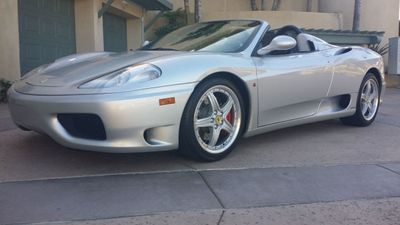 2003 Ferrari 360 SPIDER 6 SPEED 360 Spider 6 Speed Manual Transmission - Click to see full-size photo viewer