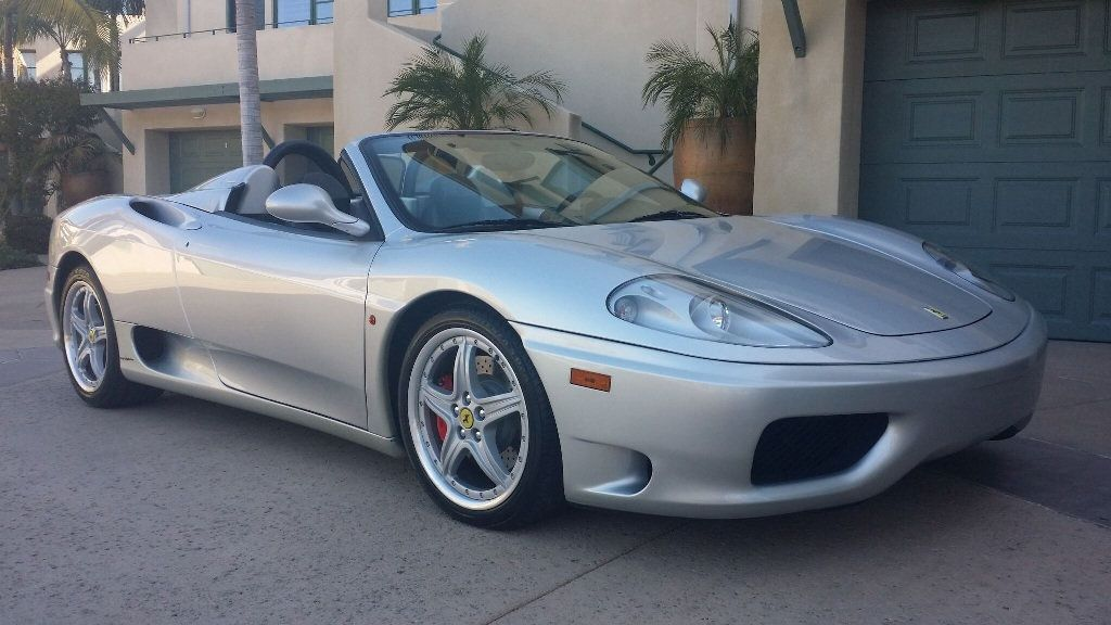 2003 Ferrari 360 SPIDER 6 SPEED 360 Spider 6 Speed Manual Transmission - 16885367 - 4