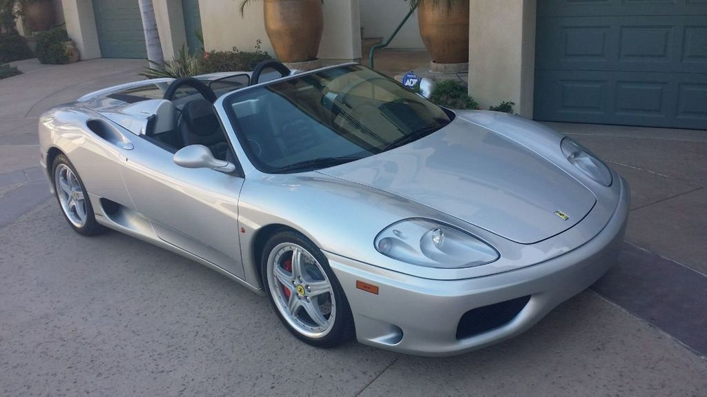 2003 Ferrari 360 SPIDER 6 SPEED 360 Spider 6 Speed Manual Transmission - 16885367 - 50