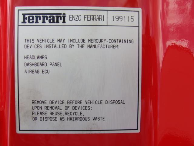 2003 Ferrari Enzo Base Trim - 4013780 - 14