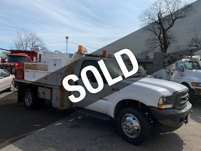 2003 Ford F-550  SUPER DUTY 10 FOOT FLATBED