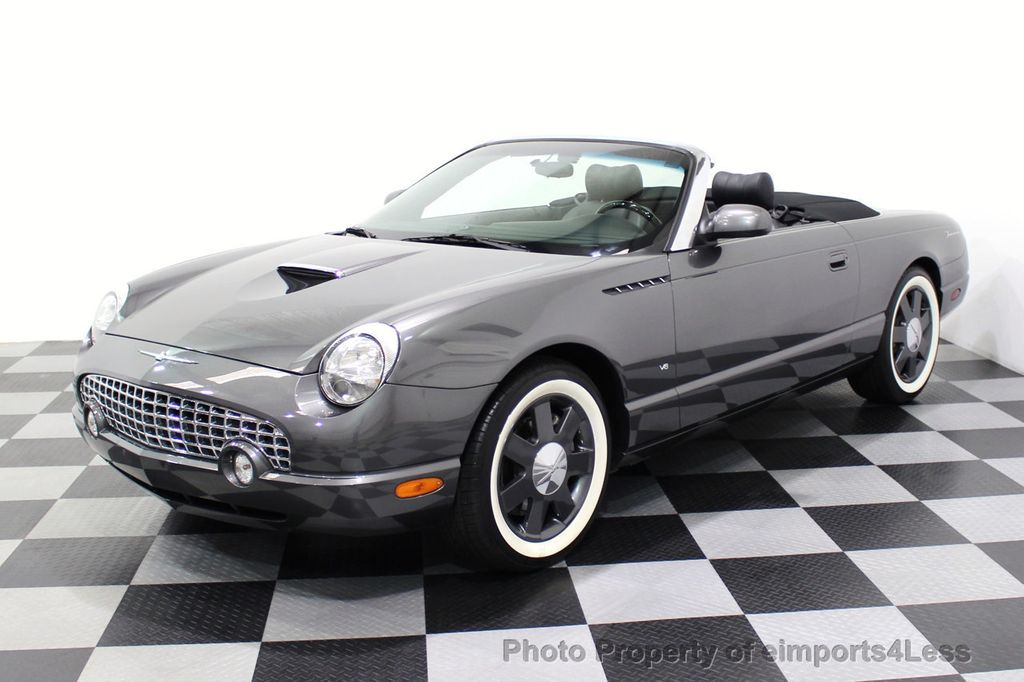 2003 Ford Thunderbird CERTIFIED Ford Thunderbird WITH HARDTOP - 18257410 - 12