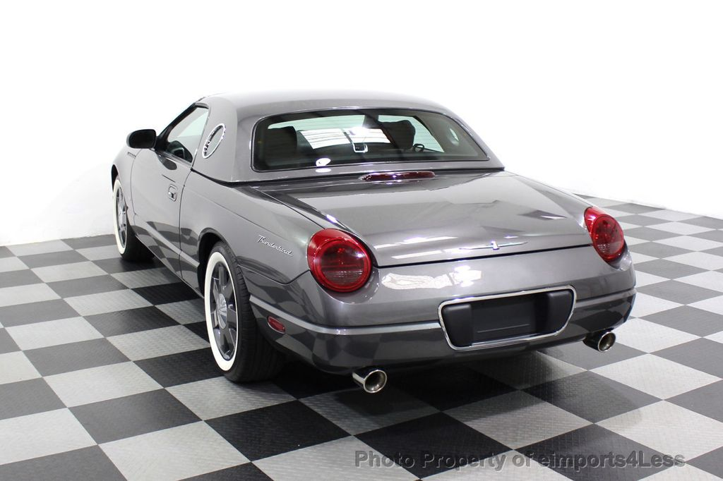 2003 Ford Thunderbird CERTIFIED Ford Thunderbird WITH HARDTOP - 18257410 - 14