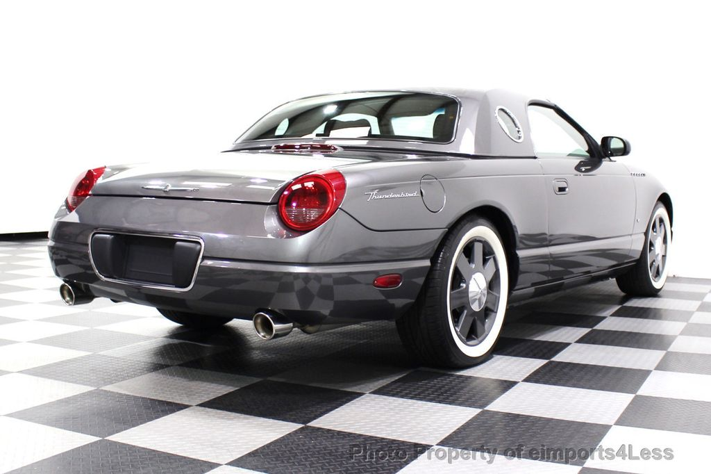 2003 Ford Thunderbird CERTIFIED Ford Thunderbird WITH HARDTOP - 18257410 - 16