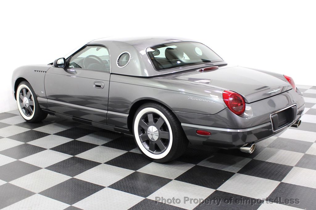 2003 Ford Thunderbird CERTIFIED Ford Thunderbird WITH HARDTOP - 18257410 - 28