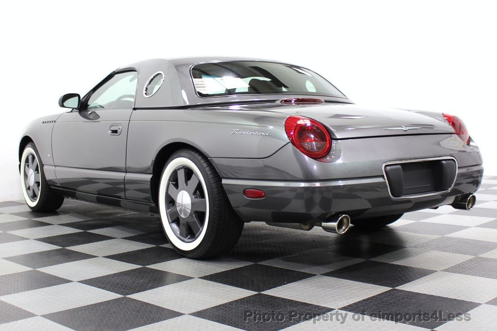 2003 Ford Thunderbird CERTIFIED Ford Thunderbird WITH HARDTOP - 18257410 - 2