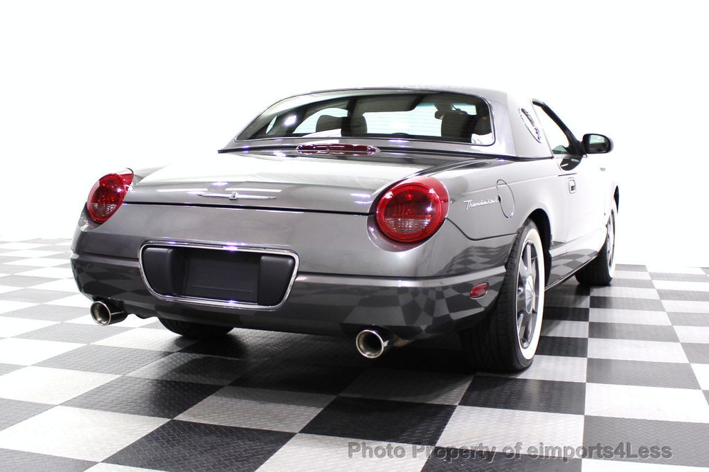 2003 Ford Thunderbird CERTIFIED Ford Thunderbird WITH HARDTOP - 18257410 - 30