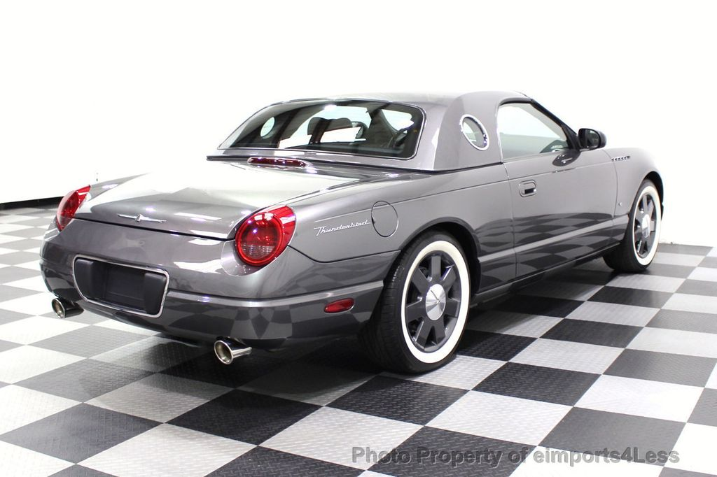 2003 Ford Thunderbird CERTIFIED Ford Thunderbird WITH HARDTOP - 18257410 - 43