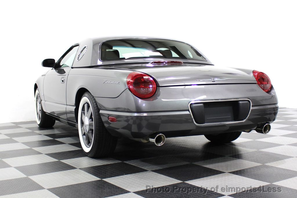2003 Ford Thunderbird CERTIFIED Ford Thunderbird WITH HARDTOP - 18257410 - 47