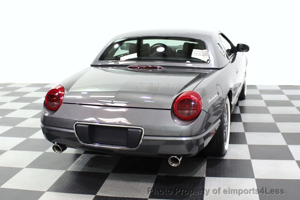 2003 Ford Thunderbird CERTIFIED Ford Thunderbird WITH HARDTOP - 18257410 - 48