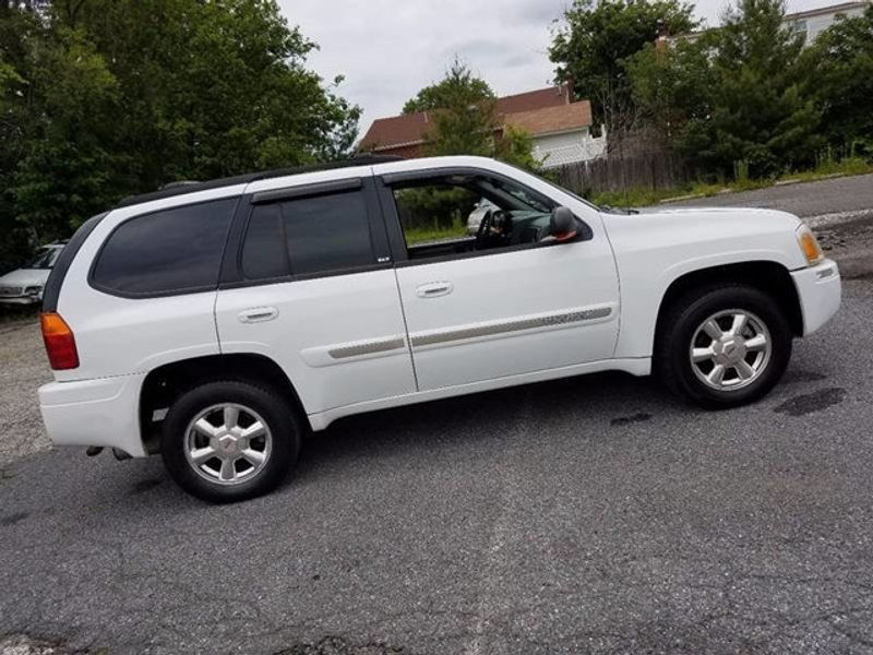 2003 used gmc envoy 4x4 slt premium at contact us serving. Black Bedroom Furniture Sets. Home Design Ideas