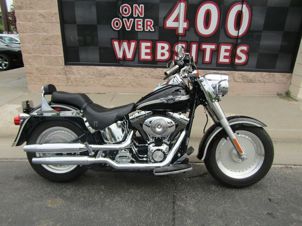 2003 used harley davidson flstfi fat boy at the internet car lot serving omaha iid 16615923. Black Bedroom Furniture Sets. Home Design Ideas