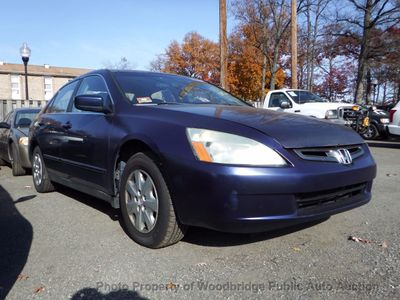 2003 Used Honda Accord Sedan at Woodbridge Public Auto Auction, VA, IID  17075411