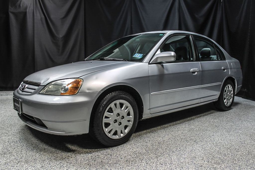Nice 2003 Honda Civic 4dr Sedan EX Manual   16048179
