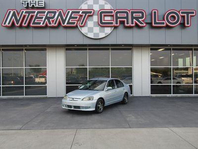 2003 Honda Civic 4dr Sedan Hybrid Cvt