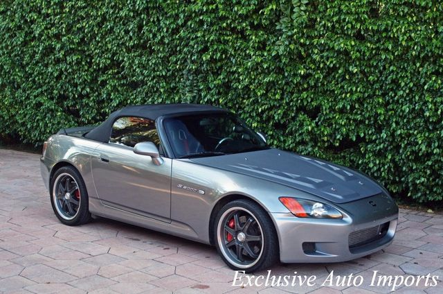 2003 Honda S2000 2003 HONDA S2000 AP1 CONVERTIBLE COMPTECH SUPERCHARGED SPARCO - Click to see full-size photo viewer