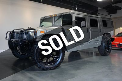 2003 HUMMER H1 4-Passenger Wagon Enclosed SUV
